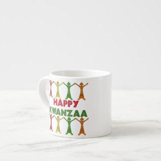 Kwanzaa Dancers Espresso Mug