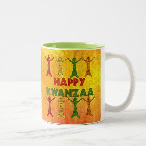 Kwanzaa Dancers Coffee Mug