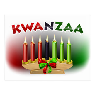 Kwanzaa Design Postcard