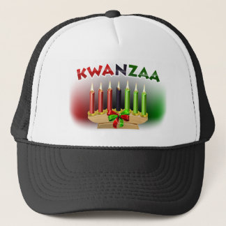 Kwanzaa Design Trucker Hat