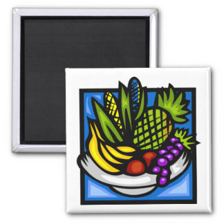 Kwanzaa Fruit Bowl Magnet by SRF