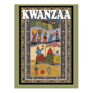 Kwanzaa - Fruits and vegetables Postcard