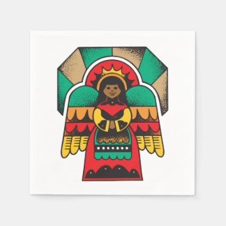 Kwanzaa Guardian Angel Kwanzaa Party Paper Napkins