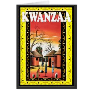 Kwanzaa , in the village card