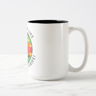 Kwanzaa Life Two-Tone Coffee Mug