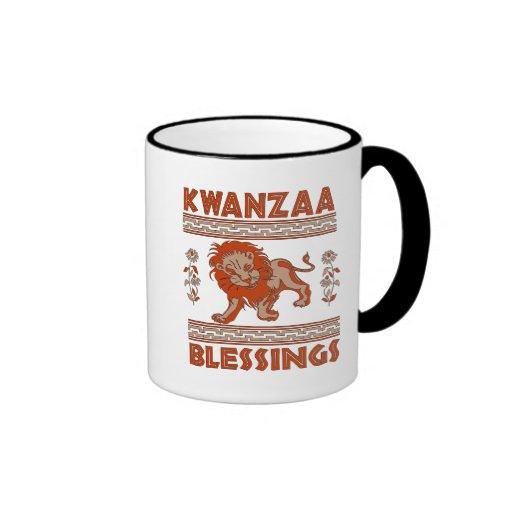 Kwanzaa Lion Mug