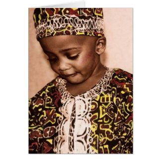 Kwanzaa love & grace card