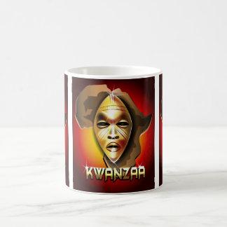 Kwanzaa 11 Oz Magic Heat Color-Changing Coffee Mug