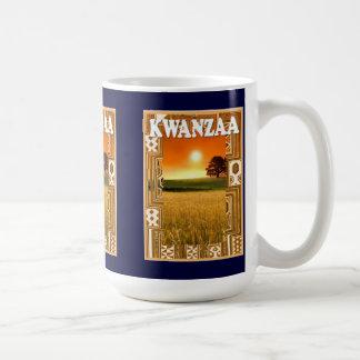 Kwanzaa mug , African sunset