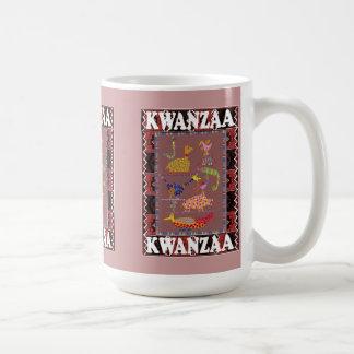 Kwanzaa mug , Animzls in tribal culture