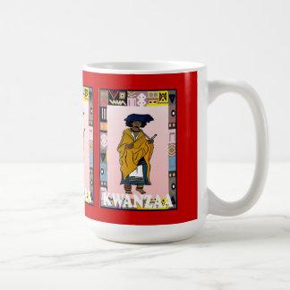 Kwanzaa mug, Ethnic lady Basic White Mug