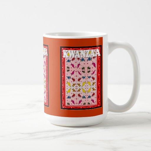 Kwanzaa mug ,Ethnic pattern