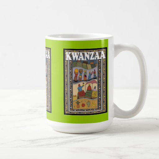 Kwanzaa mug ,Fruit sellers