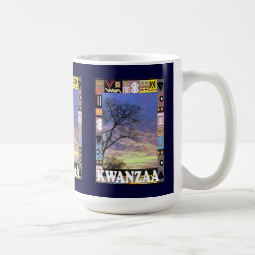 Kwanzaa mug , In the bush
