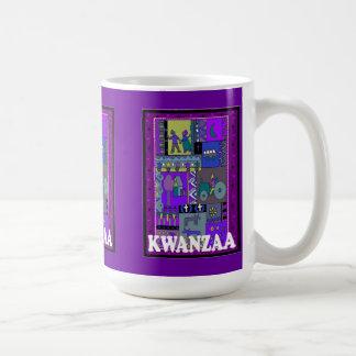 Kwanzaa mug ,Scenes from village life