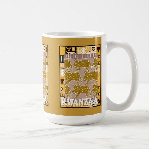 Kwanzaa mug , The hunt is on