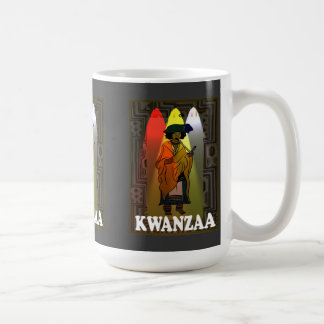 Kwanzaa mug , Traditional ethnic chararcter