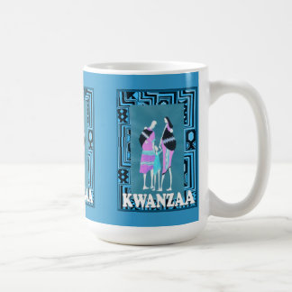 Kwanzaa mug , Traditional family group