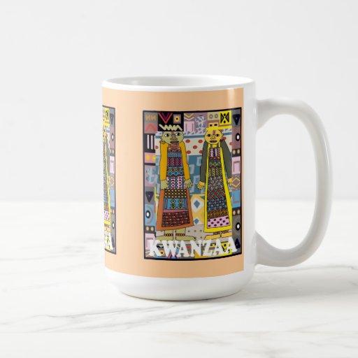 Kwanzaa mug , Tribal people