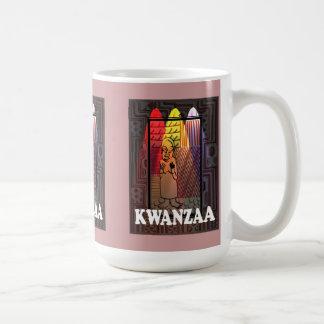 Kwanzaa mug , Village life