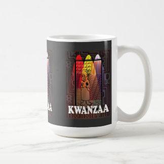 Kwanzaa mug , Village life 1