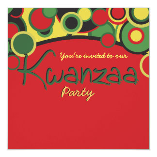 Kwanzaa Party Invitations
