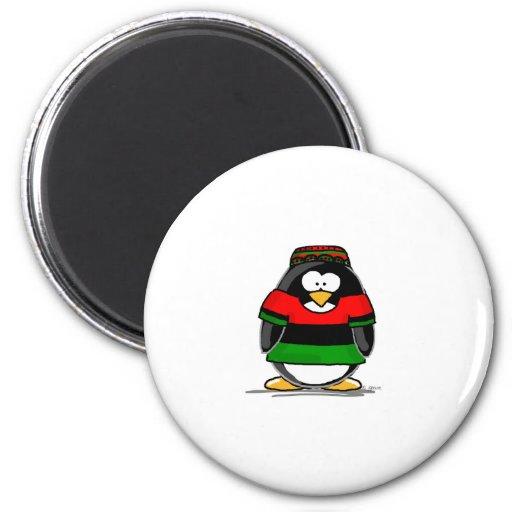 Kwanzaa Penguin Magnet
