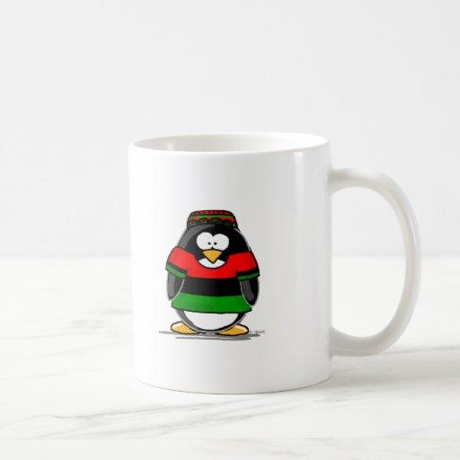 Kwanzaa Penguin Mugs
