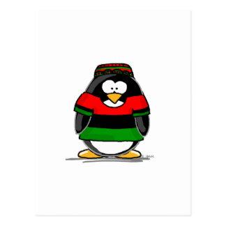 Kwanzaa Penguin Postcards