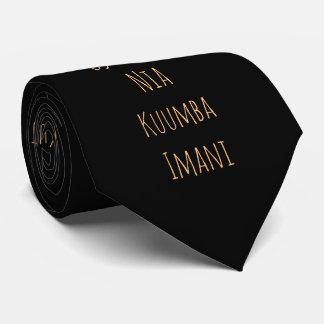 Kwanzaa Principles   Tie