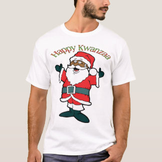 Kwanzaa Santa T-Shirt