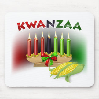 Kwanzaa Sign Mouse Pad