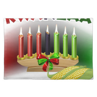 Kwanzaa Sign Placemat