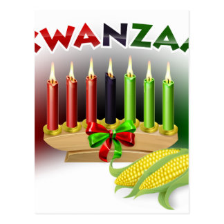 Kwanzaa Sign Postcard