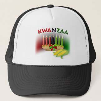Kwanzaa Sign Trucker Hat