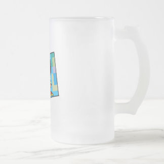 Kwanzaa Woman 16 Oz Frosted Glass Beer Mug
