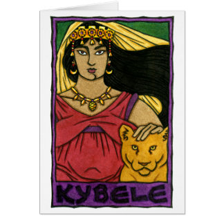 Kybele Greeting Card