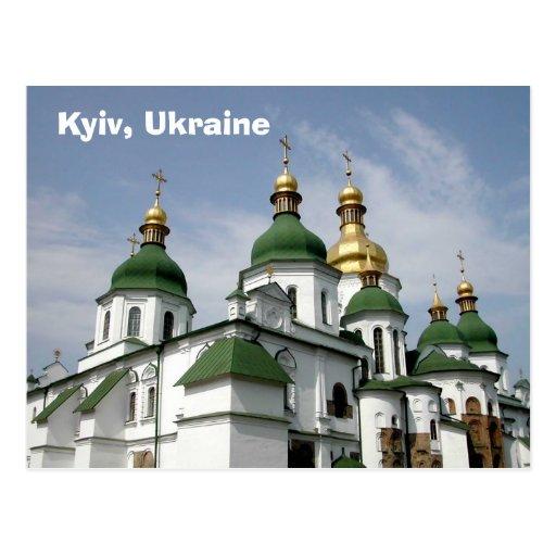 Kyiv, Ukraine Post Card