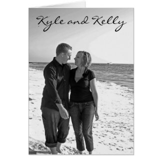 Kyle and Kelly invitation