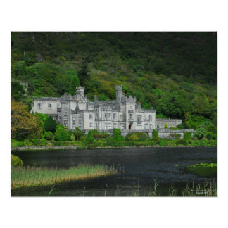 Kylemore Abbey 16x20 Poster