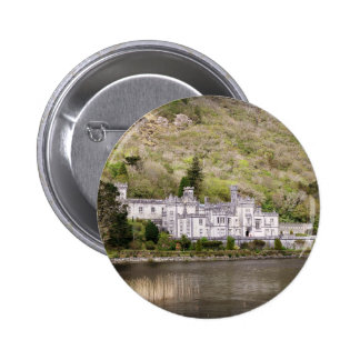 Kylemore Abbey Castle in Ireland 2 Inch Round Button