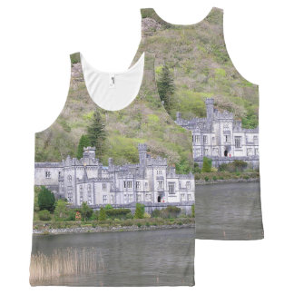 Kylemore Abbey Castle in Ireland All-Over-Print Tank Top