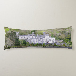 Kylemore Abbey Castle in Ireland Body Pillow