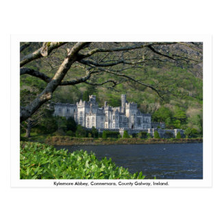 Kylemore Abbey, Connemara, Co. Galway Postcard
