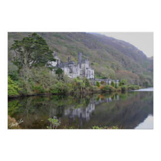 Kylemore Abbey, Ireland Poster