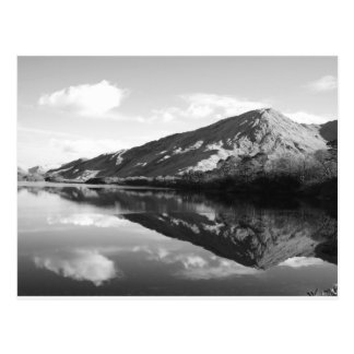 Kylemore Lake B&W Postcard