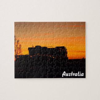 Kynuna sunrise jigsaw puzzle