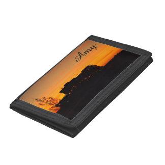 Kynuna sunrise truck silhouette wallet