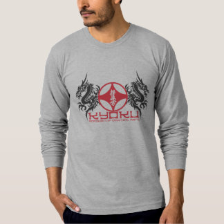 Kyoku Academy of Martial Arts Fitted Long Sleeve T T-Shirt