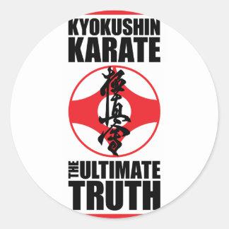Kyokushin_0002.png Round Stickers
